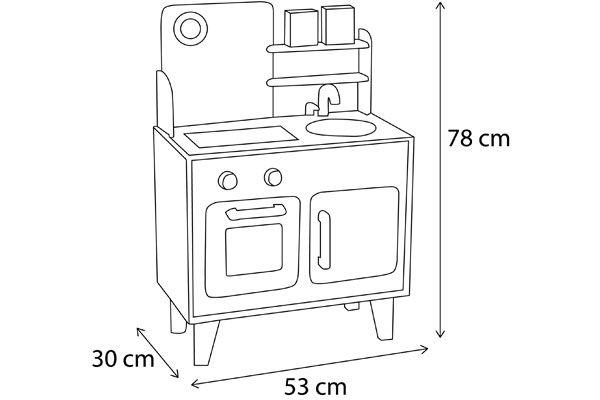 Janod maxi cuisine macaron for Cuisine janod macaron