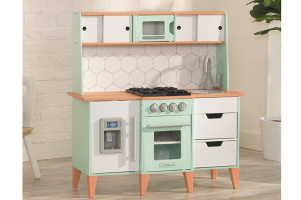 Retro Design Keuken : Kidkraft retro keuken kinderkeukens be