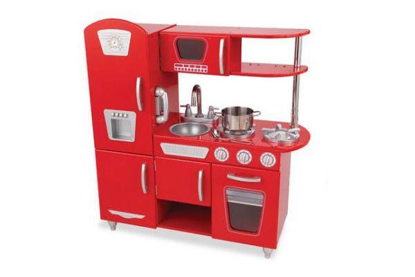 Retro Keuken Accessoires : Home > Kinderkeuken > Kidkraft > Rode vintage keuken