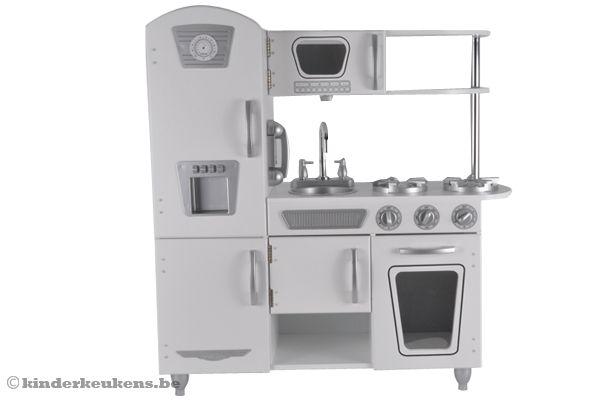 Witte Vintage Keuken : Kidkraft Witte vintage keuken Kinderkeukens.be