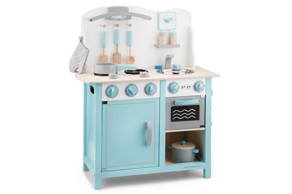 Houten Keuken Kind : New classic toys bon appetit deluxe blauw kinderkeukens.be