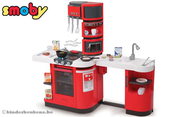 smoby cook master red. Black Bedroom Furniture Sets. Home Design Ideas