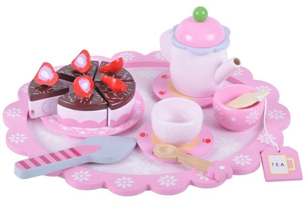 Sweet strawberry theeset 16 dlg